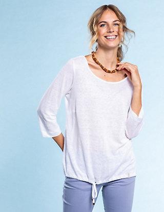 Deerberg Leinen-Jersey-Shirt Elina