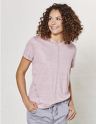 Deerberg Leinen-Shirt Abela distel