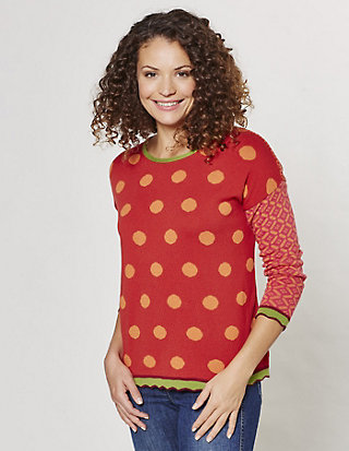 Flomax Jacquard-Pullover Anneke