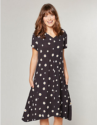 Deerberg Jersey-Kleid Madalena schwarz