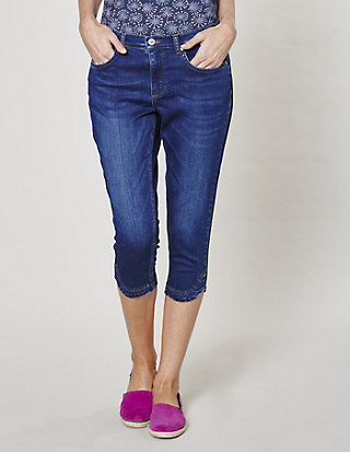Deerberg Stretch-3/4-Jeans Ava