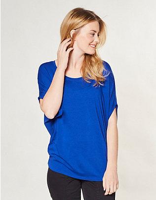 Deerberg Jersey-Oversized-Shirt Arline königsblau