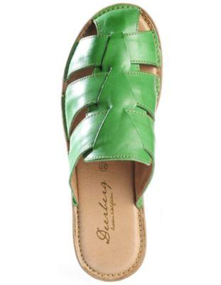 Deerberg Pantolette Rheana, grün