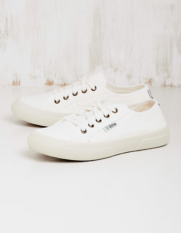 Natural World Vegan-Sneaker Laurina weiß