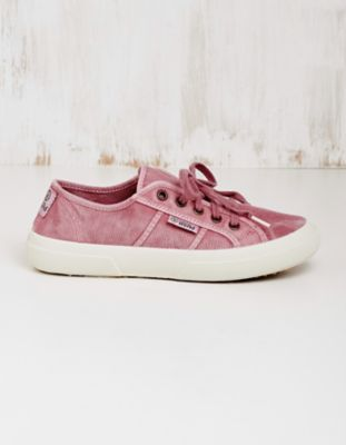 Natural World Vegan-Sneaker Laurina rosa