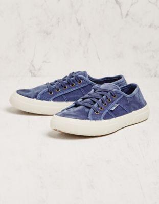 Natural World Sneaker Laurina blau
