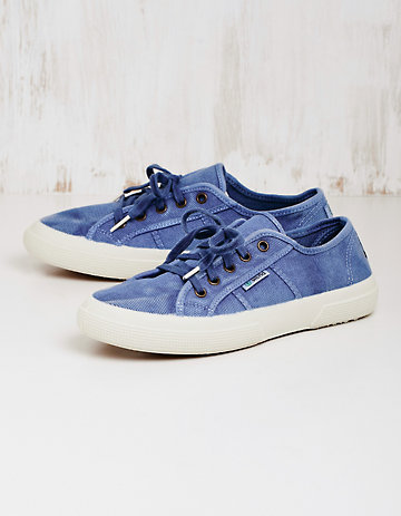 Natural World Sneaker Laurina jeansblau
