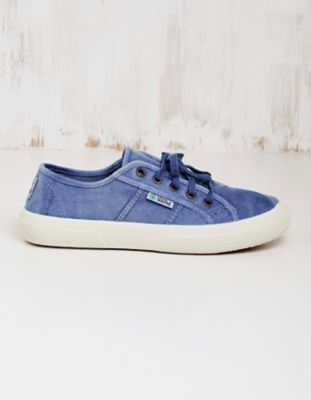 Natural World Vegan-Sneaker Laurina jeansblau