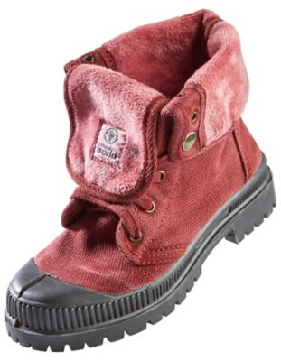 Natural World Kids Stiefeletten Aina, bordeaux