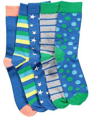 Deerberg 5er Pack Socken Myrna