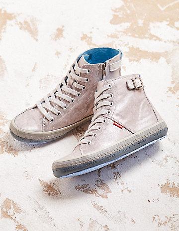 Wolky Sneaker Laila silber-metallic