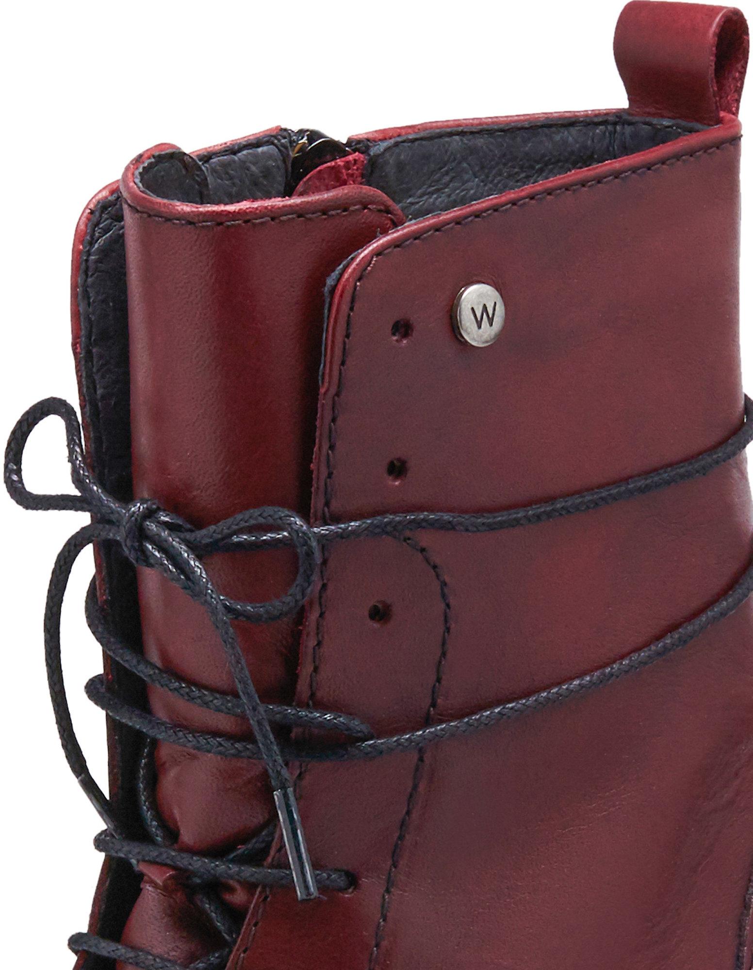 Stiefeletten Bering von Wolky in rot | Deerberg Kostenloser