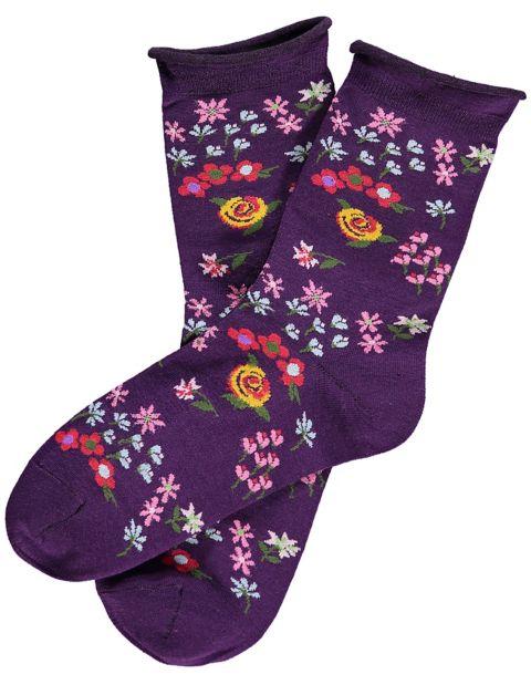 2er Pack Socken Flory, Rot