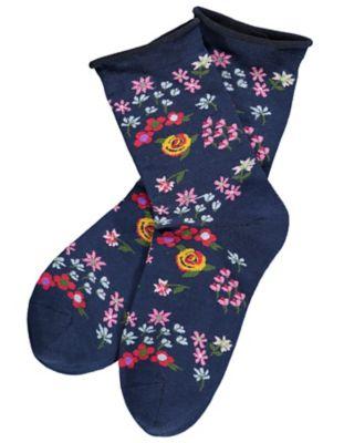Sympatico 2er Pack Socken Flory, jeansblau