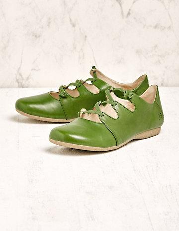 Josef Seibel Spangenschuhe Thaddea grün