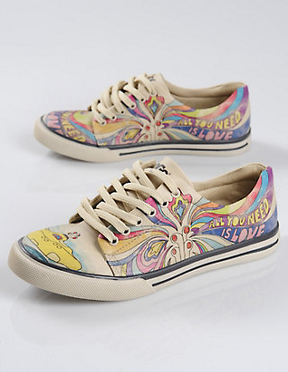 Dogo-Shoes Halbschuhe all you need is love