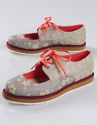 Dogo-Shoes Spangenschuhe Flowers