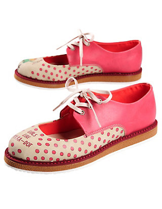 Dogo-Shoes Spangenschuhe Polka Dot