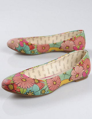 Dogo-Shoes Ballerina Floral