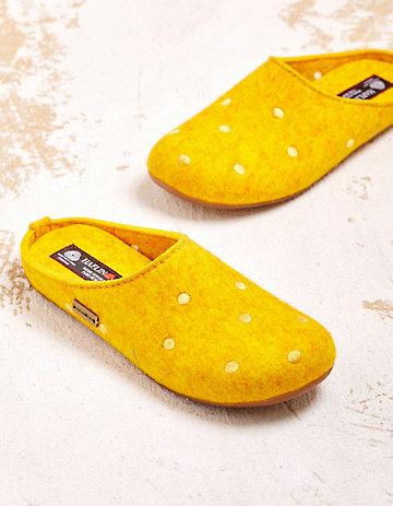 Haflinger Hausschuhe Silke gelb