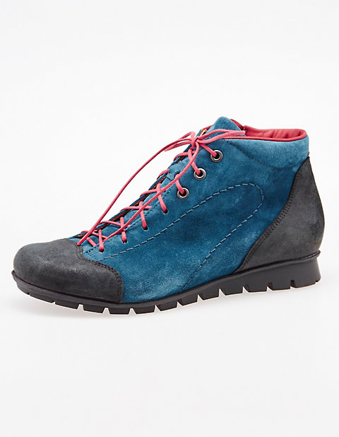 Stiefeletten Orsina | Schuhe > Stiefeletten > Sonstige Stiefeletten | Schwarz | Leder - Velours | Think