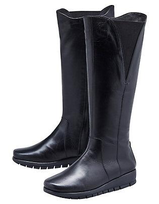 Aerosoles Stiefel Jerika schwarz-glatt