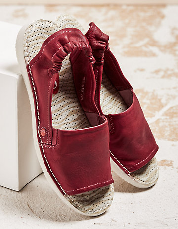 Softinos Sandalen Faline rot