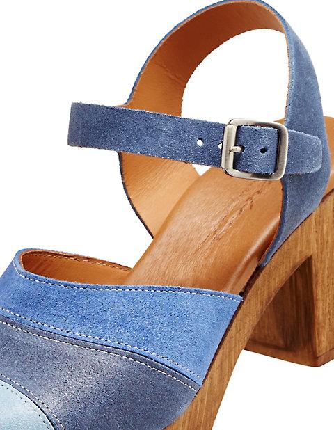 Deerberg Strapped pumps blue leather