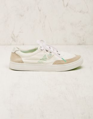 Satorisan Stoff-Sneaker Esra white