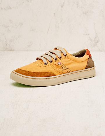 Satorisan Stoff-Sneaker Esra orange