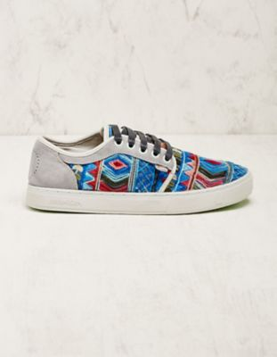 Satorisan Stoff-Sneaker Esra blau-bunt
