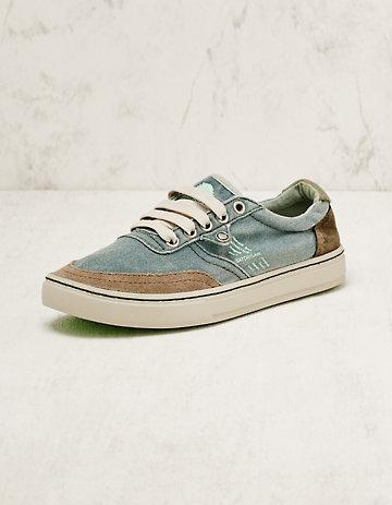 Satorisan Stoff-Sneaker Esra balticblau