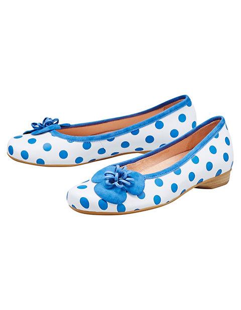 Ballerinas Colin, Blau