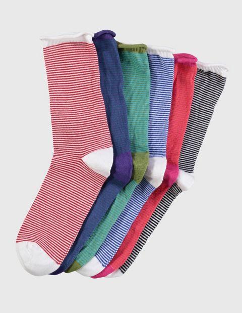 Image of Deerberg 6er Pack Socken Farfalla, Bunt