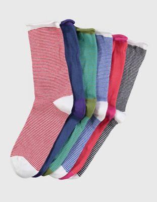 Deerberg 6er Pack Socken Farfalla, bunt