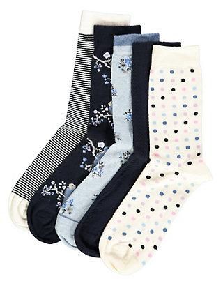 Deerberg 5er Pack Socken Dagna