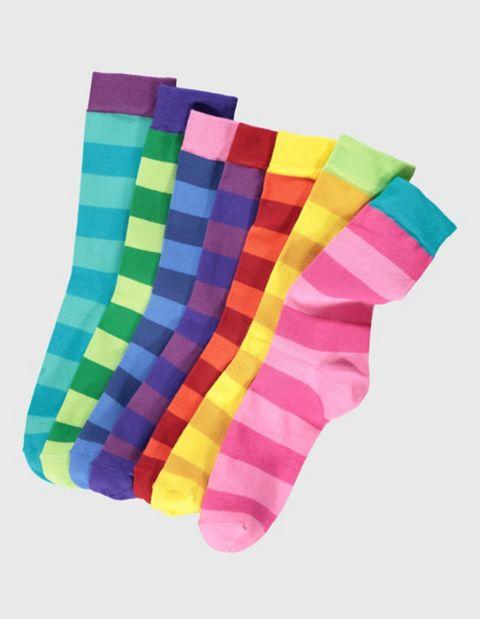 Image of Deerberg 7er Pack Socken Bjarka, Bunt