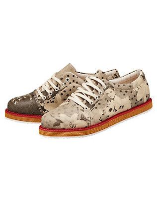 Dogo-Shoes Damen Halbschuhe Patchwork, Bunt