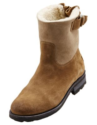 Shabbies Amsterdam Stiefeletten Lianna, taupe