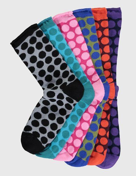 Image of Deerberg 6er Pack Socken Severa, Bunt