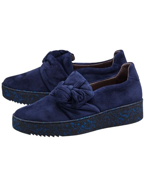 Slipper Andina, Blau