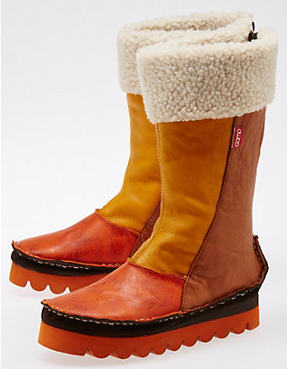 Clamp Damen Boot Cutler, Gelb