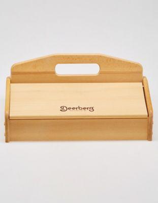 Deerberg Pflegemittel Schuhputzkasten farblos