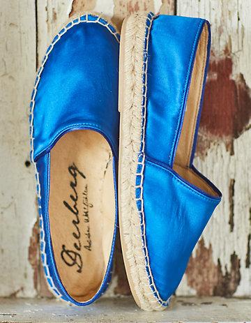 Deerberg Young Slipper Roxana kobaltblau
