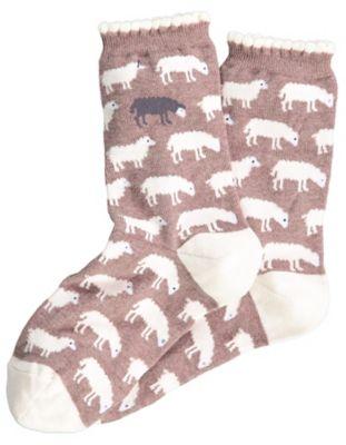Sympatico Socken Sheep, nuss