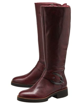 Softwaves Stiefel Follie bordeaux
