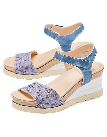 Brako Sandalen Kerstin jeansblau