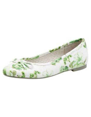 Be Natural Ballerinas Yalda grün