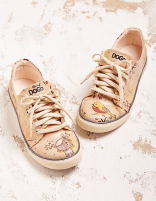 Dogo-Shoes Halbschuhe A Little Bird Told Me, bunt