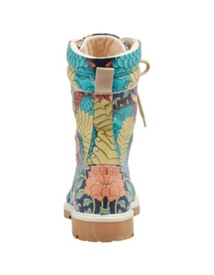 Dogo-Shoes Stiefeletten Chinese Dragon, bunt